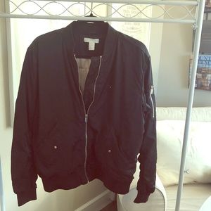 H&M Black zip jacket